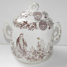Brown Transferware bowl - AND all those beautiful buttons! Description from pinterest.com. I searched for this on bing.com/images