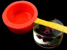 Silikonformen - Silikonform rund, Zylinder - ein Designerstück von luflom-design bei DaWanda