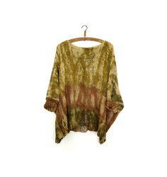 Earthy Tye Dye Sweater. by munamiu on Etsy, $99.00