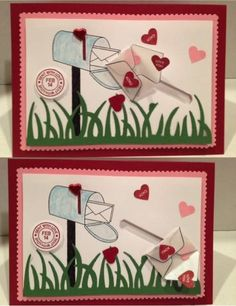 Spinning Sent with Love by karjor - Cards and Paper Crafts at Splitcoaststampers