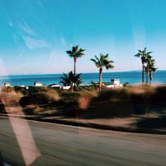 Road trip, California.