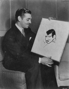 Clark Gable see? Old Hollywood Movies, Vintage Hollywood, Hollywood Stars, Classic Hollywood, Classic Movie Stars, Classic Movies, William Clark, It Happened One Night, Rhett Butler