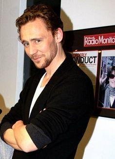 Tom Hiddleston look at that smile! Thomas William Hiddleston, Tom Hiddleston Loki, British Men, British Actors, Avengers, Nerd, Raining Men, The Villain, Celebs