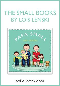 The Small Books by Lois Lenski are sure to delight the little people in your life! Check out this sweet series that we discovered at the library!