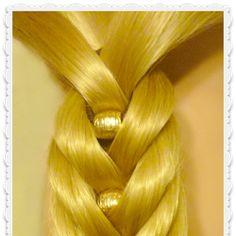 Fancy Fishtail Kit Hair Tutorial, Fishtail Braid With Beads