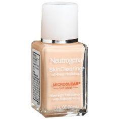 Neutrogena SkinClearing Foundation - Classic Ivory!