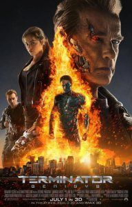 "The latest annoying ""Terminator"" sequel ""Terminator: Genisys"" starring Arnold Schwarzenegger, Jason Clarke, Emilia Clarke, and Jai Courtney is now playing in theaters. Terminator Poster, Terminator Genisys Full Movie, Terminator Genesis, Terminator Movies, 2015 Movies, Hd Movies, Movies To Watch, Movies Online, Movie Tv"