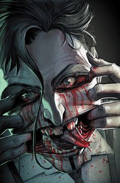 Colder: Toss the Bones #1 - Art and cover by Juan Ferreyra