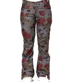 Roxy Torah Bright Birch Floral Women's Snowboard Ski Pants