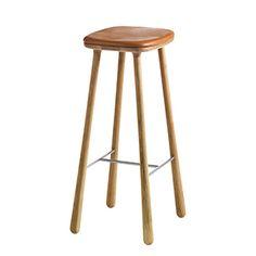 CASANOVA Møbler — ADD Interior - CUBA Barstol - læder
