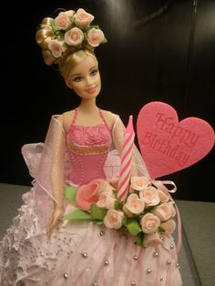 84 Best Doll Cakes Images Barbie Cake Birthday Cake Girls Pound Cake