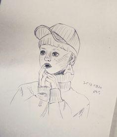 연필 드로잉 ;아더에러