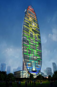 James Law Cybertecture - South Mumbai, India.