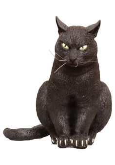 light up hissing black cat 11in party city this black cat decoration is ready for scaring and comes with batteries hidden in the cats belly comp