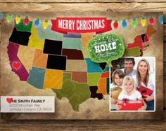 moving announcements christmas card - Google Search
