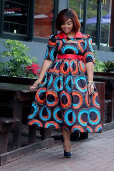 Stylish Ankara dresses and stylish Ankara dressses for Beautiful women by laviye - 2019 Dresses, Skirt, Shirts & African Print Dress Designs, African Print Clothing, African Print Dresses, African Print Fashion, Ankara Designs, African Design, African Prints, African Dresses For Women, African Attire
