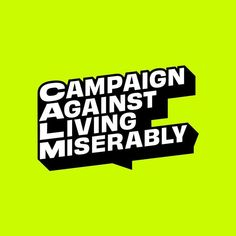 Design agency Output has created the new logo and branding for UK suicide prevention charity, Campaign Against Living Miserably (CALM)