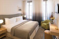 Hôtel Le Marianne, Paris - Chambre | Rooms #hotel #Paris #ChampsElysees