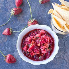 Chipotle Rhubarb Salsa   vegan & raw & veggie love   Pinterest ...