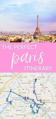 This is the perfect Paris itinerary. #TravelHelp