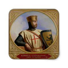 Roberto II, también conocido como Roberto de Jerusalem, fue conde de Flandes  desde el 1093 al 1111. Se dirigió a Constantinopla por vía marítima. Participó en la Primera Cruzada junto a los caballeros normandos del Norte, los cuales fueron el segundo grupo de Cruzados en llegar a Jerusalem.