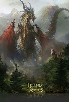 An unexpected dragon meeting
