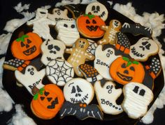 Galletas Halloween. Halloween cookies.