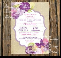 Butterfly+Baby+Shower+Invitation+by+GrizzShop+on+Etsy,+$20.00