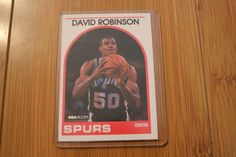 david robinson 1989 #NBA hoops #310 rookie card excellent condition! from $1247.0