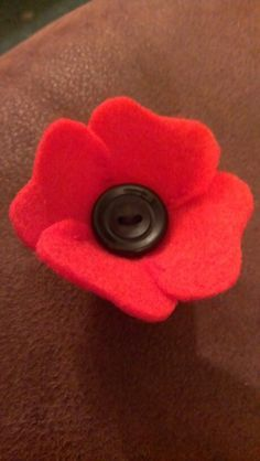 how to make poppies with felt - Google Search