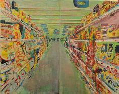 A completely different perspective ... Walmart art - Candy Aisle - by Brendan O'Connell