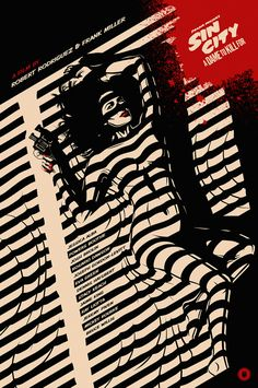 Excelente póster de Sin City: A Dame to Kill For