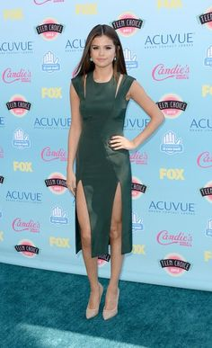 Teen Choice Adwards 2013 Alfombra Roja | Ella es Fashion - Selena Gómez