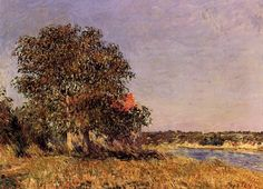 Alfred Sisley The Plain of Thomery and the Village of Champagne (1882)