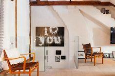 Jurnal de design interior - Amenajări interioare : Apartament inedit în Stockholm