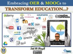 embracing-oer-moocs-to-transform-education by Zaid Alsagoff via Slideshare
