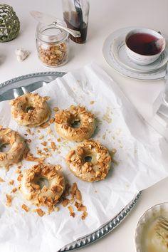 Baked Vegan Maple Bacon Donuts |