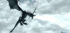 Dragon+Skyrim.gif