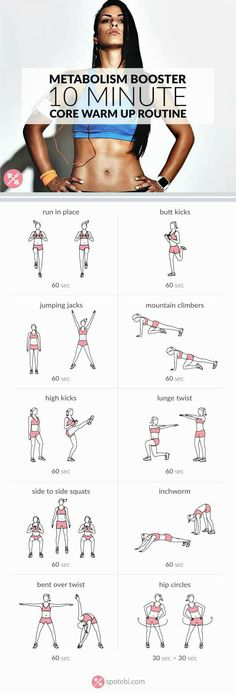 10 Min Core Warm Up Workout | Posted by: AdvancedWeightLossTips.com