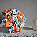Un Bouquet de mariée atypique
