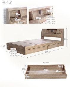 Diy Platform Bed Frame, Platform Bed With Storage, Wood Platform Bed, Diy Bed Frame, Under Bed Storage, Bedroom Closet Design, Home Room Design, Interior Design Living Room, Box Bed Design