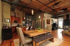 Steel Factory #Penthouse #Loft With Dueling Skylines #Philadelphia #Philly