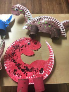 Dinosaur Crafts Kids, Dinosaurs Preschool, Preschool Crafts, Crafts For Boys, Halloween Crafts For Kids, Toddler Fun, Toddler Crafts, Creative Arts And Crafts, Toddler Learning Activities