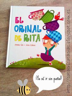 ¡Sin pañales! con El orinal de Rita - Recomendación Cuentera de CatacricatacraC | CatacricatacraC Cuentos Infantiles #dejarpañal #controldeesfinteres