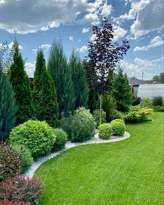 Back Garden Design, Backyard Garden Design, Garden Landscape Design, House Landscape, Outdoor Landscaping, Front Yard Landscaping, Outdoor Gardens, Dream Garden, Garden Planning