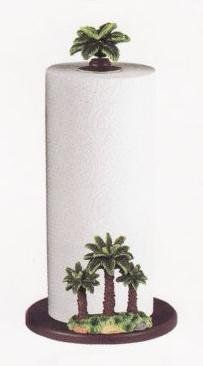 Amazon.com - PALM TREE Paper Towel Holder / Stand *NEW*! - Palm Kitchen Towel Holder