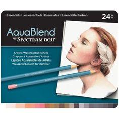 Spectrum Noir Aquablend Pencils - Essentials by Crafter's Companion
