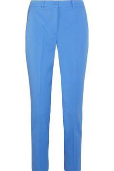 Michael Kors Collection | Samantha wool-blend twill slim-leg pants | NET-A-PORTER.COM