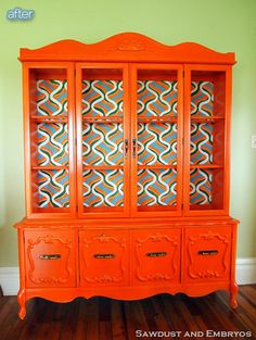 Better After: How Much Hutch - some INCREDIBLE upcycled hutches.  Related:  There are always a TON of old hutches for sale on the UsedEverywhere websites...Just sayin.
