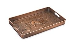 Good Directions Horse Multi-Purpose Serving Tray, Boot Tray / Shoe Tray - Copper Finish (22 inch) with Handles - Food, Drinks, Plants, Pet Bowl, Garage, Entryway, Entrance, Foyer #Good #Directions #Horse #Multi #Purpose #Serving #Tray, #Boot #Tray #Shoe #Copper #Finish #inch) #with #Handles #Food, #Drinks, #Plants, #Bowl, #Garage, #Entryway, #Entrance, #Foyer